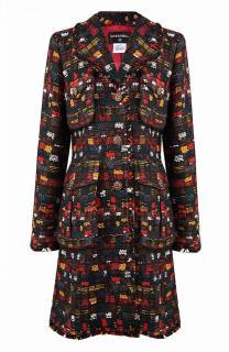 Chanel Paris/Edinburgh fantasy tweed Metiers d'Art Collection Coat