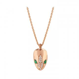 Bvlgari 18kt Rose Gold Serpenti Necklace