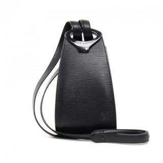 Louis Vuitton Black Epi Leather Minuit Bag