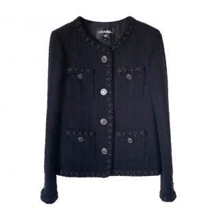 Chanel Icon Paris in Rome Little Black Jacket