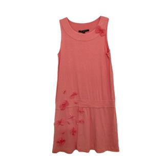 LIli Gaufrette Pink Frilled Dress
