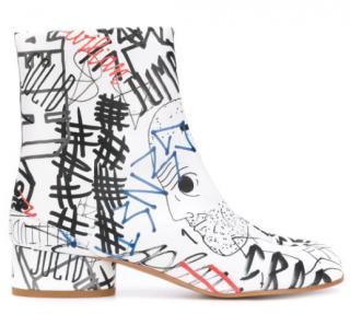 Maison Margiela Graffiti Tabi Boots