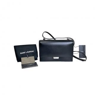 Saint Laurent Small Black Babylone Crossbody Bag