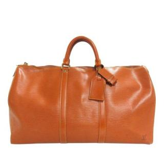 Louis Vuitton Epi Leather Keepall 50