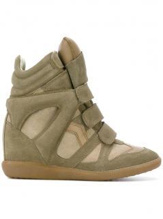 Isabel Marant Leather Bekett Sneaker