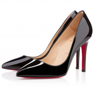Christian Louboutin Pigalle 100mm Patent Pumps