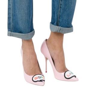 Sophia Webster Pink Boss Lady Pumps