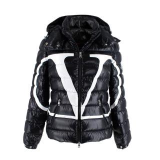 Valentino x Moncler Vlogo Black Padded Down Puffer Jacket