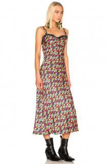 Rixo Juliet Floral Print Pop dress