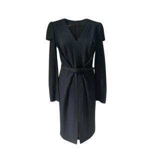 Escada Virgin Wool Blend Dress