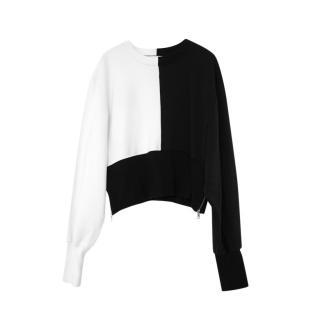 Vaara Bi-Colour Kenna Jersey Sweatshirt