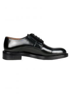 Lanvinn Black Glossy Leather Derbies