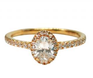 Rivoir 18ct Yellow Gold Diamond Ring