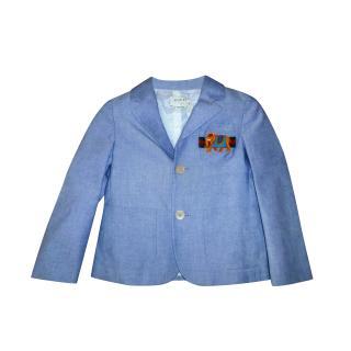Gucci Kids 36M Cotton Blazer
