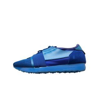 Balenciaga Blue Race Runner Sneakers