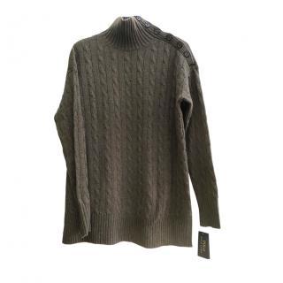 Polo Ralph Lauren Cable Knit Cashmere Blend Jumper