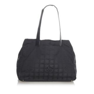 Chanel Vintage New Travel Line Nylon Tote Bag