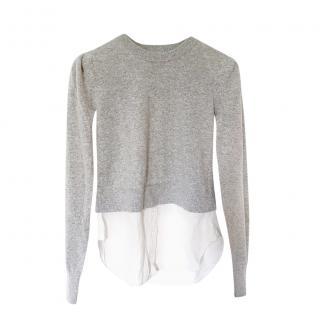 Veronica Beard Cashmere Shirt Jumper