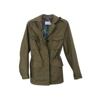 Coach Khaki Military Jacket