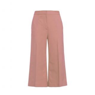 MSGM Pink Tailored Culottes