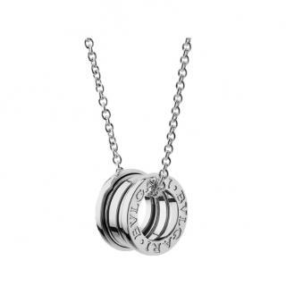 BVLGARI B.zero1 18kt White Gold Necklace