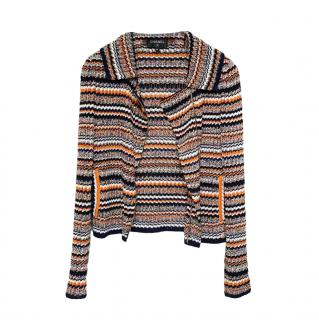 Chanel Paris/Cuba Multicoloured Striped Knit Jacket