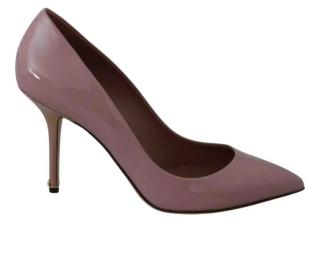 Dolce & Gabbana Pink Patent Pumps