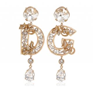 Dolce & Gabbana D&G Crystal Clip-on Earrings