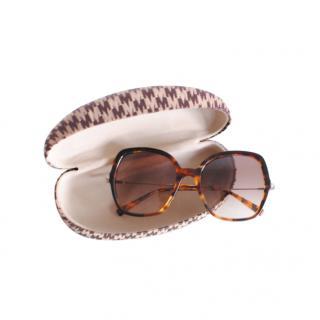 Max Mara Tortoiseshell Sunglasses