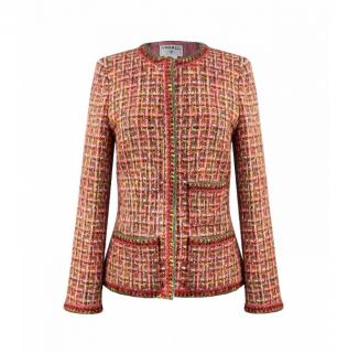 Chanel Multicoloured Braided Tweed Collectors Jacket
