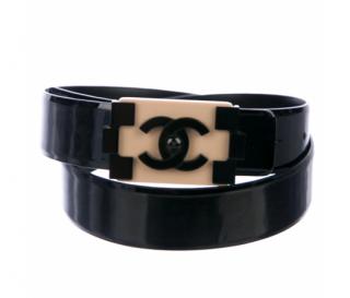 Chanel Boy Brick Patent Belt - Size 90
