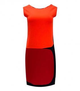 Roksanda Wool Colourblock Shift Dress