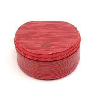 Louis Vuitton Epi Ecrin Bijoux Mini Jewellery/Trinket case