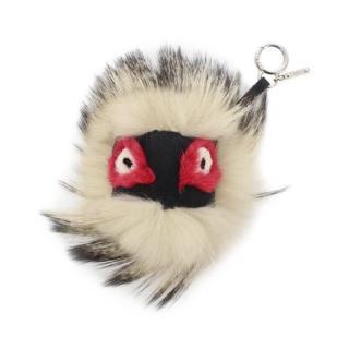 Fendi Archy Bags Bugs Monster Fur Charm
