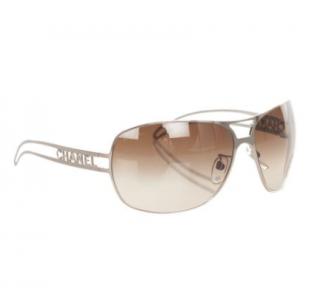 Chanel Logo Arm Classic Sunglasses