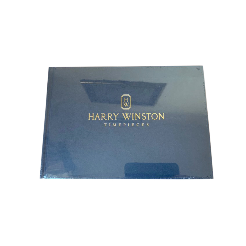 Harry Winston Blue Timepieces Coffee Table Book