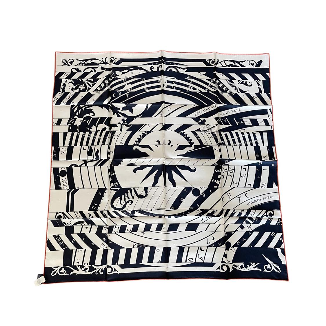 Hermes Sold Out Astrologie Nouvelle Silk Scarf 90