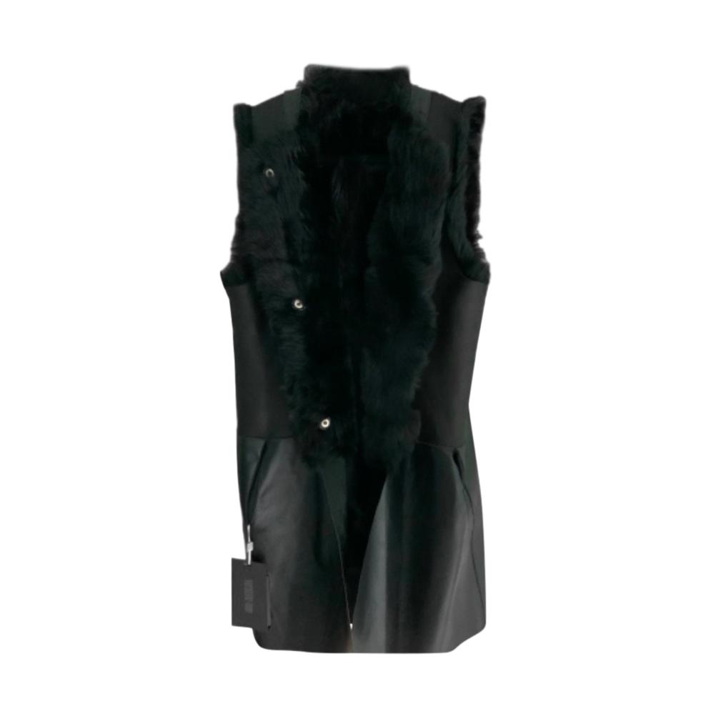 Karl Donoghue Black Toscana Reversible Gilet