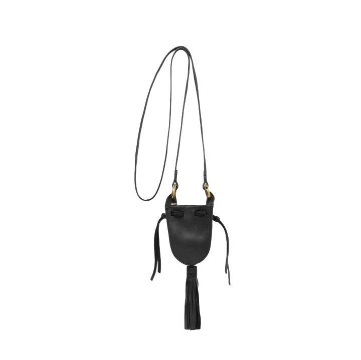 Isabel Marant Radjimi Black Mini Bucket Bag