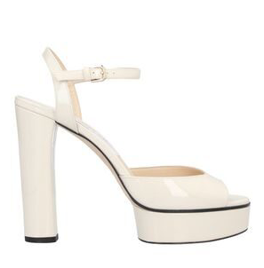 Jimmy Choo Patent Peachy 125mm Sandals