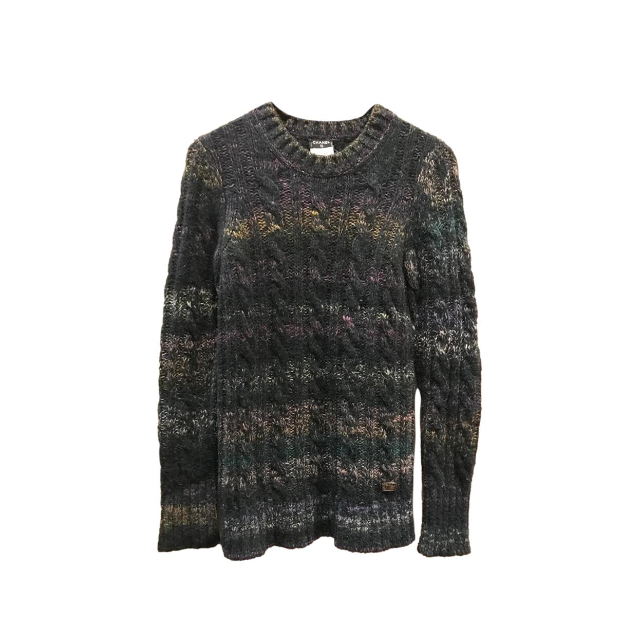 Chanel Multicoloured Cashmere Knit Jumper