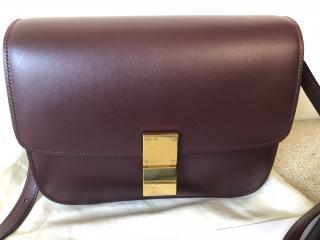 Celine Medium Classic Gold Hardware Shoulder Bag