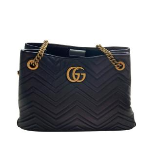 Gucci Marmont Quilted Leather Tote Bag