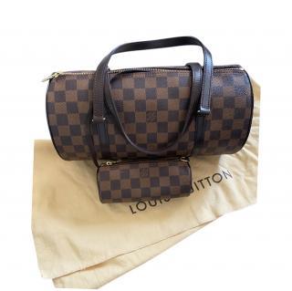 Louis Vuitton Damier Ebene Papillon 30 Shoulder Bag