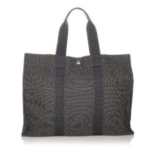 Hermes Canvas Herline GM Bag