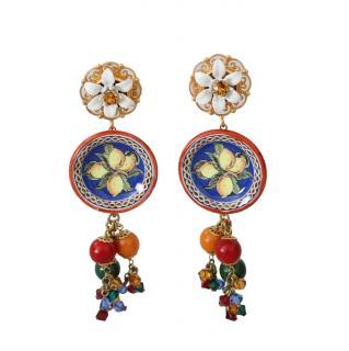 Dolce & Gabbana Caretto Drop Earrings
