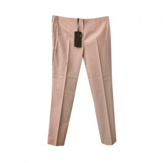 Les Copains Pink Tailored Pants