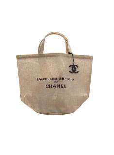 Chanel Beige VIP Gift Dans Les Serres Tote