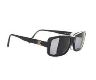 Chanel Vintage Black 03521 Sunglasses
