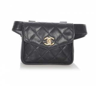 Chanel Matelasse Caviar Leather Belt Bag